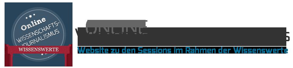 Website zum OnlineCamp im Rahmen der Wissenswerte